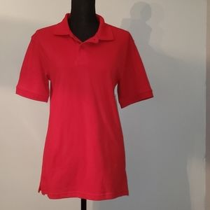 George Red polo shirt